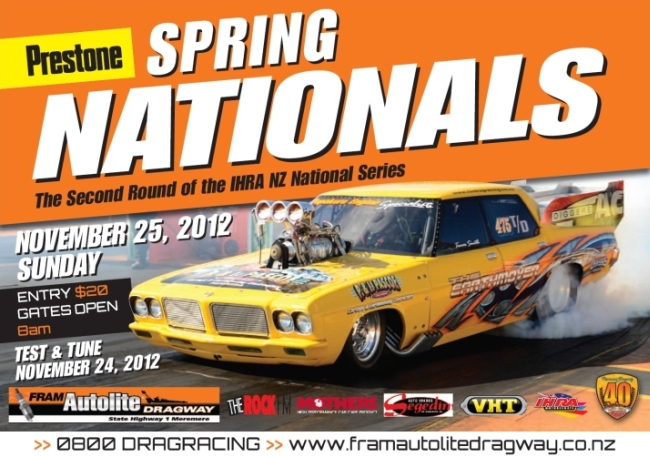 2012 Spring Nationals poster