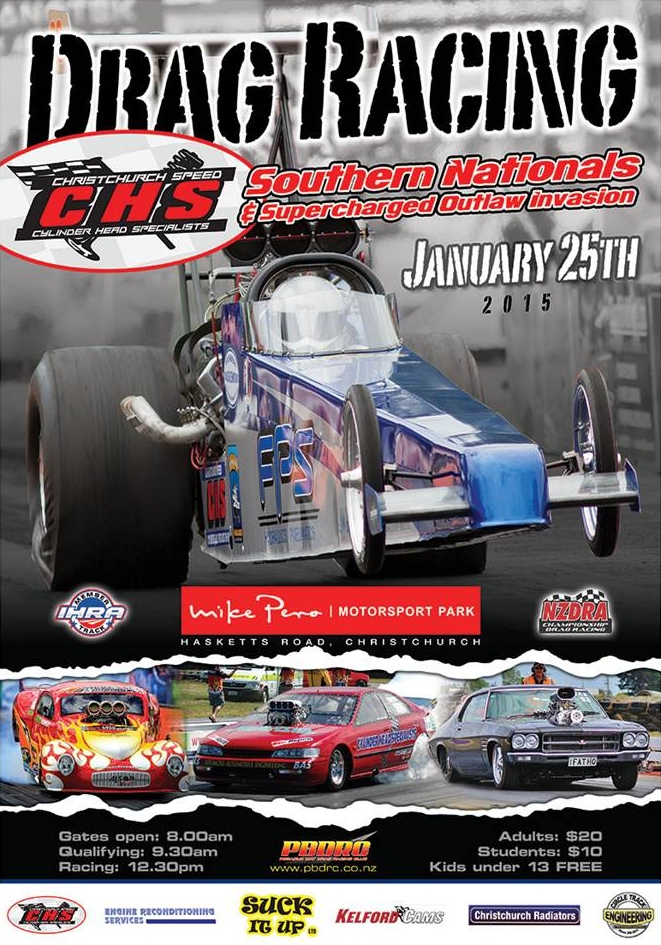 2015 Southern Nationals poster