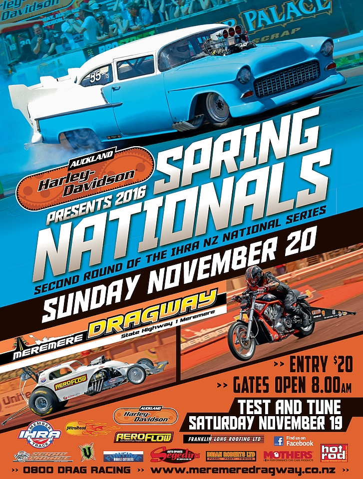 2016 Spring Nationals poster